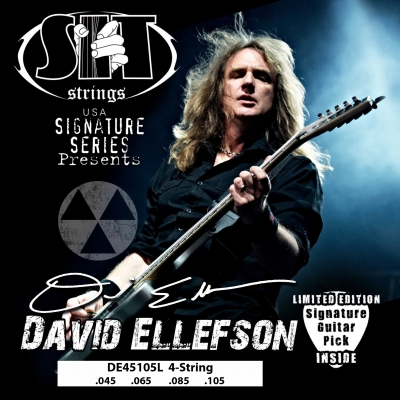DAVID ELLEFSON SIGNATURE 4-STRING EXTRA LONG