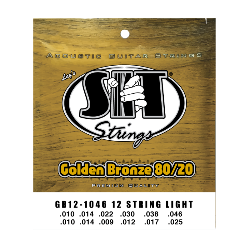 3-Pack of S.I.T Guitar Strings P1048 for Acoustic or Acoustic//Electric Guitar