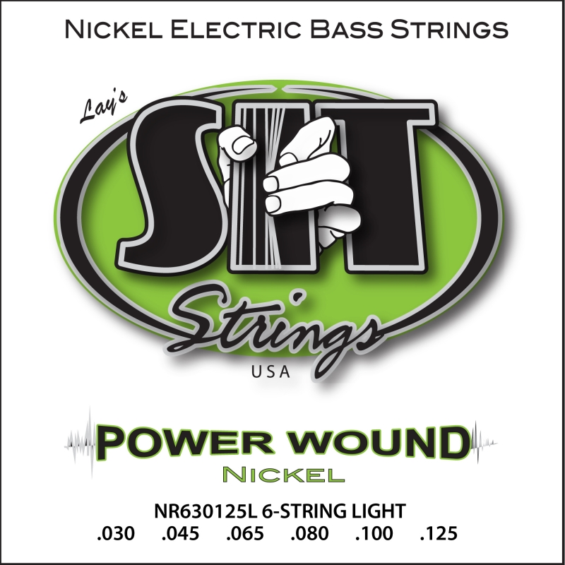 POWER WOUND 6-STRING LIGHT NICKEL BASS